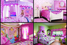 Princess Bedroom / by Amie Lawson