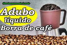 Como fazer adubo líquido de borra de café
