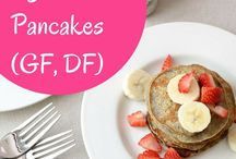 Pancakes/Waffles / easy and sometimes healthy pancakes and waffles.