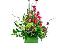 Flower Arrangements / http://www.occasionflowers.com.au/occasions