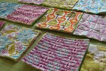 Centre blocks for rag quiltsrag quilts