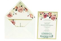 "Themed Invitation ""Flowers"" / Here you can find our invitation stationary."