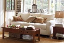 Farmhouse Living Room / It's how we live within the spaces we're given that matter most to God.
