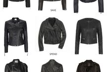 black#leather# jacket#sexy♥