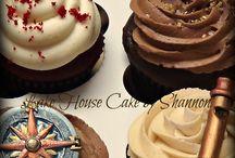 steampunk cupcakes