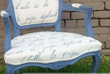Fabric painted with Chalk Paint®
