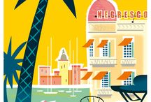 `` Notre région `` / Découvrez la côte d'azur parmi ces plus bel endroits, sa gastronomie et ces lieux typiques de la région.