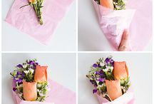 Flower Bouquets / Easy handmade flower bouquet