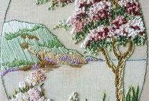 quadro bordado
