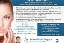 Events / Monthly office events filled with the latest information on facial rejuvenation products and techniques. Awesome injectable specials and raffles!