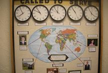 Church Missions Bulletin Boards / by Katelyn Eisenhour