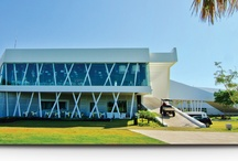Club House Grand Coral Riviera Maya / The Clubhouse is an architectural icon that integrates modernity, state of the art construction and care for the environment... With its spa, golf stores and restaurants its a magnificent place to start, spend and end a golfing day...