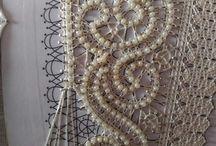 knipling, bobbin lace, klø