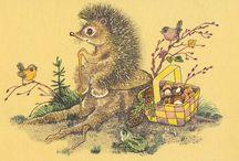 Hedgehogs / by Russian Soul Vintage