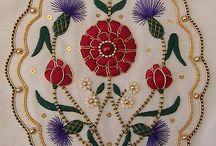 Embroidery, nakış teknikleri desenleri