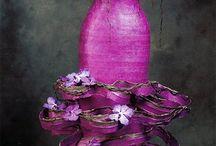 Robes accessoires en fleurs