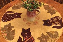 Cat Lovers / Quilts and patterns