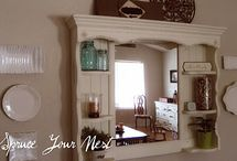 Hutch, Dresser ReDo Possibilities / by ThreeOldKeys Laurie C