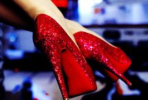 Shoe Addict / I love Shoes!!! #shoes #heels #sparkle / by Liz Creighton