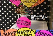 teaching | birthday celebration
