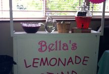 Lemonade stand / Lemonade stand used for a baby shower.
