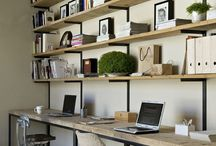 Office at home / by Anne Dardaud