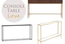 INTERIORS | Console /Table
