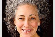 gray hair natural