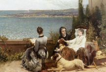 Charles Soubre / (1821‐1895) Belgian painter