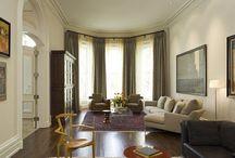 20 beaux designs de salon avec baie vitrée