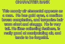 Character Banks