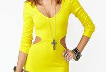 08 I Fashion by colour I Yellow&Lime