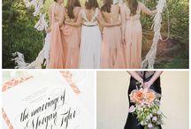 wedding color/peach