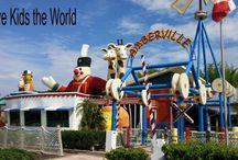 Outside Walt Disney World