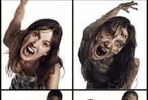 The Walking Dead / Before and after