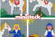 Ministeck / Voorbeelden
