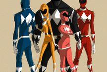 Power Rangers / Some amazing art inspired by Power Rangers