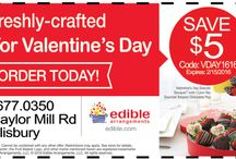 Valentine's Day Specials! From Your Friends at Frugals / Check out these great local specials for Valentine's Day from your Friends at Frugals, The Locals Source for Coupons; www.frugals.biz.
