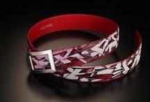 Tagged belts #DuretParis / #Artistic #tagged #belts