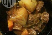 Recipes / Slow cooker blade steak stew
