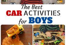 Activiteiten - kleine jongens