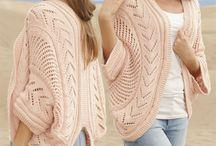 Peach knitted jersey