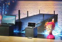 Xperia Media Day - Hôtel Banke / Conférence de presse de Sony pour la présentation française de 3 produits : le Xperia Z Ultra, la nouvelle montre Smartwatch 2 et le mini combiné (casque BT).  / by Sony Xperia