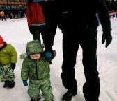 Børn på ski