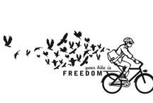 biking= freedom