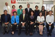 Chinatown Service Center Special Guest / California State Senator Bob Huff's Visit to Chinatown Service Center Main Office