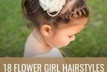 flores cabelo menina