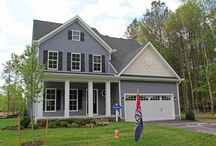 The Gabriel / A new Delaware beach home- around 1900sf with a first floor master suite. / by Capstone Homes