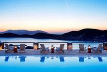 Pool & Bar / Enjoy of the swimming pool at Liostasi Hotel & Suites