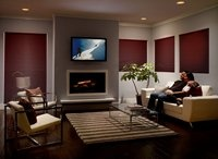 Home Theater / Proper lighting in a home theater room requires a mix of ambient and accent lighting to enhance your viewing, help prevent eyestrain and make the room practical to move around in after the movie.
